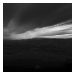 Moor Rain on the Way (picturedevon.co.uk) Tags: dartmoor nationalpark devon england uk countryside landscape bw blackandwhite mono weather rain grey clouds sky le longexposure nisi ndfilter dark night storm summer wwwpicturedevoncouk photography canon