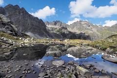 _9107618 (bl!kopener) Tags: austria olympus omd em10 918mmf456 1836mm f456 microfourthirds mirrorless m43 mft vorarlberg mountain reflection landscape 2017 3x2 cloud nature mzuiko mountainscape hiking hdr pond explored