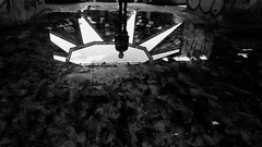 (kranz fafka) Tags: acropolis lomas verdes reflejo reflex sombras shadows méxico blanco negro black white experimental underground