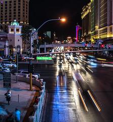 Traffic (eddiegarry) Tags: las vegas traffic lights nightroads