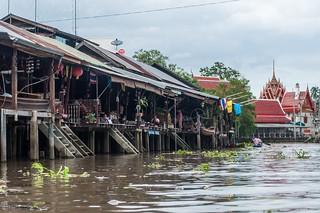 marché flottant amphawa - thailande 29
