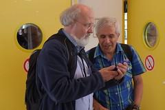 ISSAC 2017: Erich Kaltofen and Vladimir Gerdt (cantanima) Tags: mathematicians kaltofen gerdt issac