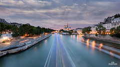 Summer eve (brenac photography) Tags: paris îledefrance france fr tournelle nikon sigma brenac brenacphotography sigmaart seine river sky sunset captainboomer