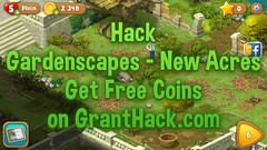 Gardenscapes – New Acres Hack Updates July 24, 2017 at 09:44PM (GrantHack.com) Tags: gardenscapes new acres