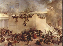 Tisha B'Av - תשעה באב <> Commemorates The Two Destructions of The Temple In Jerusalem (Chic Bee) Tags: national jewish fastday fast observed by ourpeople for nearly2500years linked destruction thetemple exile from israel ezekial siegeofjerusalem siege lamentations holytemple babylonia nebuchadnezzar king babylon month jerusalem yerushalayim templemount hartzion mountzion destructionofthejerusalemtemple titus 70ce 70ad painting francescohayez tishabav theninthofav