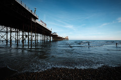 Brighton Beach & Pier (lsullivanart) Tags: brighton brightonpier palacepier brightonpalacepier fuji fujifilm fujix fujinon fujixt2 xt2 fujinon1024 fujinonxf1024 fuji1024 fujifilm1024 surrey southeast homecounties southern thesouth europe uk unitedkingdom britain england photography shot shooter shoot snap snapshot landscape beach shore coast seaside seafront ocean sea wave water seascape rock pebbles sand views natural beautiful outdoor scenery scenic