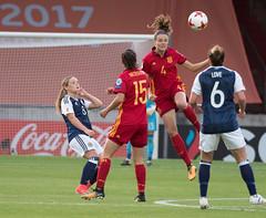47270304 (roel.ubels) Tags: voetbal vrouwenvoetbal soccer deventer sport topsport 2017 spanje spain espagne schotland scotland ek europese kampioenschappen european worldchampionships