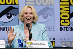 Gwendoline Christie - Game of Thrones Panel SDCC 2017 (Emese Gaal) Tags: gameofthrones got gots7 hbo sdcc sdcc2017 comiccon sandiegocomiccon sandiegocomicconinternational convention con panel brienneoftarth gwendolinechristie brienne