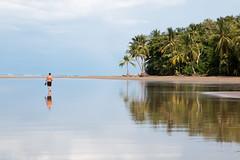 Walking on a mirror - Ballena National Park - Costa Rica