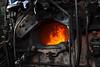 K-36 Firebox (CDeahr23) Tags: baldwinlocomotive durangoandsilvertonnarrowguage dsng silvertonco firebox steamlocomotive train coalfired