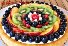 Torta chantilly e frutta (Le delizie di Patrizia) Tags: torta chantilly e frutta le delizie di patrizia ricette dolci
