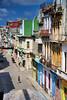 Roof view (againandagain251) Tags: havana cuba oldhavana classicneighbourhood colourfulbuildings sunnyday balconies