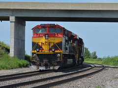 Crewless (Robby Gragg) Tags: kcs sd70ace 4177 galesburg