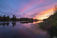 coucher de soleil (Bruno. Thomé) Tags: pentaxk1 irix15mmf24 poselongue coucherdesoleil paysage nature france indreetloire chinon