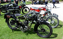 IMG_9391 (LincolnWarrior) Tags: classic transport vintage lincoln motorbike bsa