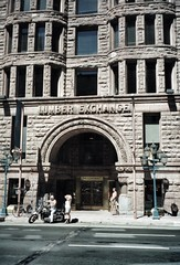 Minneapolis Minnesota ~ The Lumber Exchange Building  Events ~ Historic (Onasill ~ Bill Badzo ~~~~ OFF) Tags: twincities saintpaulminnesota mn state lumber exchange building events venues weddings skyscraper 1885 saintpaul minnesota usa unitedstates richarsonian romanesque architecture style stone fireproof oldest large construction masonic temple kasota block attraction walking tour arch portico people motorcycle harley davidson