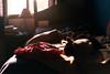 (intivisible) Tags: film 35mm analog analogic analógica prakticamtl3 fujisuperia400 cat gato asleep dormido dormir sleep sleeping durmiendo room habitación warmlight cálido bed cama arrugas crease cotidiano daily