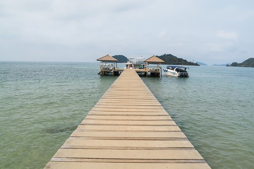 quai depart koh rang - thailande