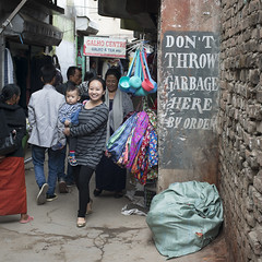India.3-33 (Trev Thompson) Tags: boy child children community culture environment family india indian kohima litter lookingatthecamera motherandchild nagaland people rubbish rubbishtip smiling streetscene toddler waste youngwoman