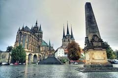 Erfurt - Erfurter Dom - Severikirche (Ventura Carmona) Tags: alemania germany deutschland thüringen erfurt catedraldeerfurt erfurterdom severikirche domplatz venturacarmona