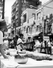 COOLANT 1 (Dinasty_Oomae) Tags: petri18 retri ペトリ ペトリ18 白黒写真 白黒 monochrome blackandwhite blackwhite bw outdoor 東京都 東京 tokyo 台東区 taitoku かっぱ橋本通り kappabashimainstreet 七夕 tababata starfestival 下町七夕まつり