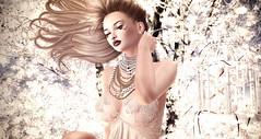 Bird Set Free (desiredarkrose) Tags: makeup whitewidow white~widow lelutka simonebento necklace bauhaus piercing babydoll addams luanes world sliceof heaven blog secondlife avatar fantasy theepiphany