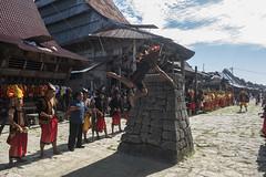 Traditional Stone Jumping - Bawomataluo village (Hannes Rada) Tags: indonesia nias island bawomataluo stonejumping