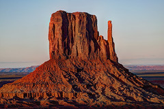 Left Mitten (jed52400) Tags: butte monumentvalleynavajotribalpark leftmitten rightmitten landscape rockformation arizona utah oljatomonumentvalley
