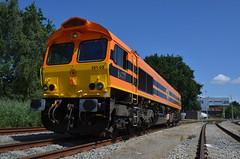 17.07.2017 (II); Eerste inzetdag derde Hommel (chriswesterduin) Tags: rrf railfeeding class66 hommel 56105 sloe roosendaal cargo goederentrein trein train
