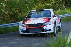 Autoglym Rally 15.7.2017 Ellivuori, Finland (Samu Ekman) Tags: finland autoglym rally 2017 rallying racing race ralli motorsport auto rallye nikon jari huttunen antti linnaketo skoda fabia r5 tamronsp70200mmf28divcusdg2 d500 sastamala
