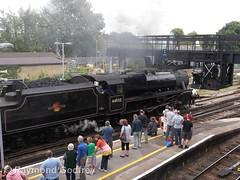 Black Five 44932 (Faversham 2009) Tags: swalefestivaloftransport 44932 faversham kent england uk railway station train trains rail steam locomotive loco blackfive black5
