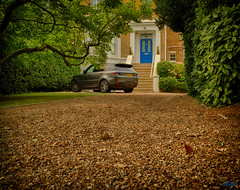 Project 365; #199 (iMalik1) Tags: photo day challenge potd project 365 days walking home drive way car gravel house tree picturesque street photography city life suburbs canon eos m3 snapped ealing urban landscape building architecture outdoors residential area neighbourhood imalik photographer