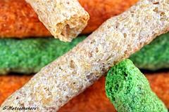 Rabbit Knibble Sticks # Texture MM (metsemakers) Tags: macro texture food color rabbit konijn