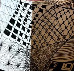 Zentangle Angle (curiouscameras) Tags: zentangle angle newbie art