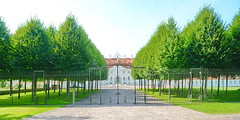 Schloss Meseberg (micagoto) Tags: meseberg gransee brandenburg schloss castle bundesregierung fence zaun
