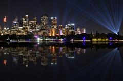 sydney cityscape (Greg Rohan) Tags: sydneyharbour colour nightphotography nightlights skyscrapers building skyline cityscape sydneycity lights vividsydney vivid photography 2017 d7200