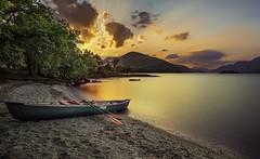 Inchtavannach Island Sunset (grahamwilliamson1985) Tags: grahamwilliamson lochlomond canoe sunset scotland munro inchtavannach island adventure visitscotland outdoors outside loch water trees sky