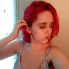 I don't wanna know #selfie #redhair #dyedhair #aesthetic #vegetarian #hippie #summer #makeup (katlyndenise00) Tags: summer aesthetic selfie hippie dyedhair redhair vegetarian makeup