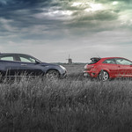Alfa Romeo Giulietta and Seat Ibiza Cupra