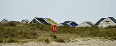 TheRedGuard (Hodd1350) Tags: christchurch mudeford beachhuts lifesavers toofs sand reeds sony sonyfe70300 a7rll
