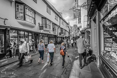 Stonegate - York, UK (Gemma Photo Freak) Tags: stonegate york northyorkshire nikon d7100 sigma 1020 ultra wide angle blackandwhite bw blackwhite
