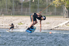 CFR0399 (Carlos F1) Tags: nikon d300 castelldefels ocp olimpiccablepark olimpic sport deporte water agua wakeboard wakeboarding wakesport wakeskate boardsport jump salto tabla surf surfing barcelona spain watersport acuatico
