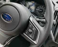 New Ride (lclower19) Tags: iphone subaru steeringwheel dashboard selectivecolor takeaim ride odc
