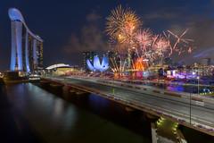 Light up my Night (- Etude -) Tags: fireworks cityscape night singapore