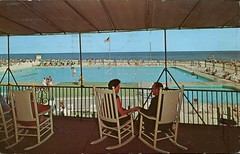 The Flanders, Ocean City, New Jersey (SwellMap) Tags: postcard vintage retro pc chrome 50s 60s sixties fifties roadside midcentury populuxe atomicage nostalgia americana advertising coldwar suburbia consumer babyboomer kitsch spaceage design style googie architecture