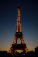 Paris (5) (geraldineh.dutilly) Tags: paris light sunset eiffel tower colors dusk