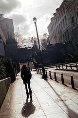 Brussels (Peter Gutierrez) Tags: photo europe european belgium belgian belgie belgique brussels brussel bruxelles bruxellois urban city urbain ville stad street streets rue rues straat straten sidewalk pavement trottoir shadow light contrast peter gutierrez petergutierrez film photograph photography