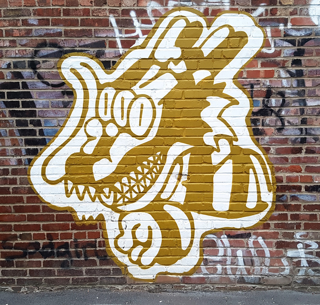 The World\'s newest photos of graffiti and wolf - Flickr Hive Mind