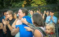 2017.07.26 Protest Trans Military Ban, White House, Washington DC USA 7661