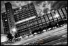 Bayer AG (Krueger_Martin) Tags: müllerstrase berlin bayer bayerag architecture architektur black white blackandwhite schwarz weis schwarzundweis nacht night light lights licht langzeitbelichtung city stadt urban hdr photomatix canoneos7d sigma1224mmexdghsm weitwinkel wideangle sigma dark dunkel